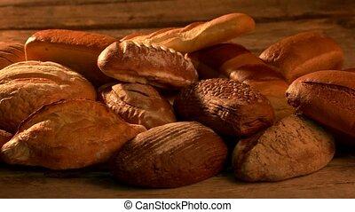 brood, variëteit, nog, life.