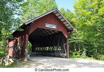 Brookdale Covered Bridge - Brookdale covered bridge on Brook...
