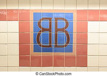 Brooklym Bridge Station Sign