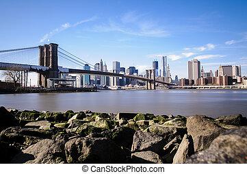 brooklyn γέφυρα , μέσα , νέα υόρκη