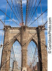 Brooklyn bridge in new york - USA