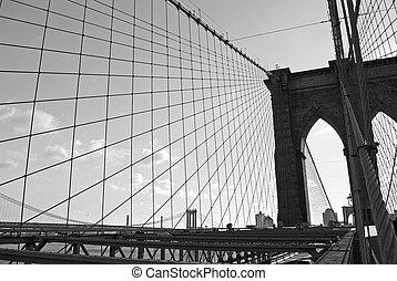 Brooklyn Bridge Lines
