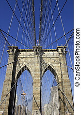 Brooklyn bridge, manhattan, new york, America, usa