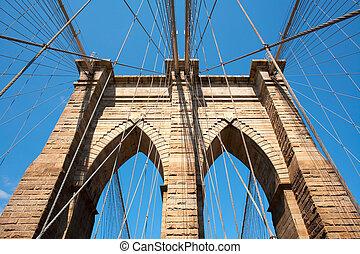 Brooklyn Bridge, Manhattan, New York City, NY, USA