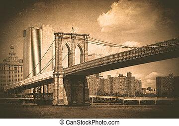 brooklyn most, rocznik wina