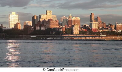 Brooklyn (New York) from South Street seaport