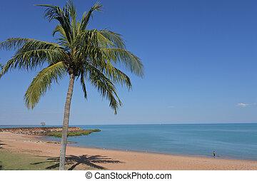 Broome town beach Western Australia