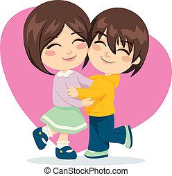 bror, syster, kärlek