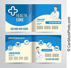 brosúra,  Healthcare