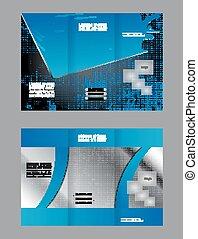 brosúra, tervezés