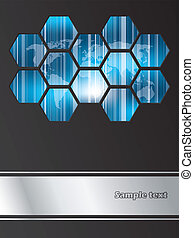 broschüre, firma, design