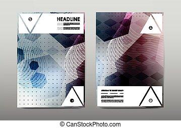 broschüre, plan, schablone, flieger, design, vektor,...