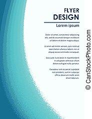 broshure, disegno, sagoma