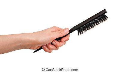 brosse cheveux, poil