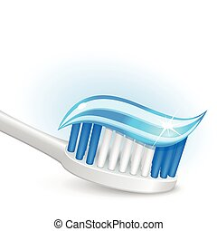 brosse dents, dentifrice, gel