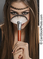 brosse maquillage, mieux