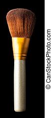 brosse, pour, maquillage, closeup