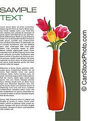 broszura, kwiat