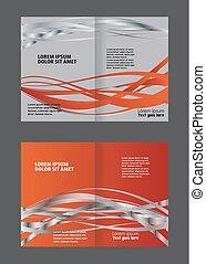 broszura, szablon