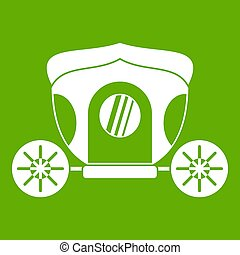 Brougham icon green
