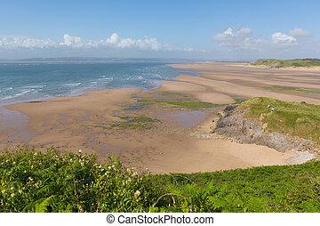 Broughton Bay beach the Gower