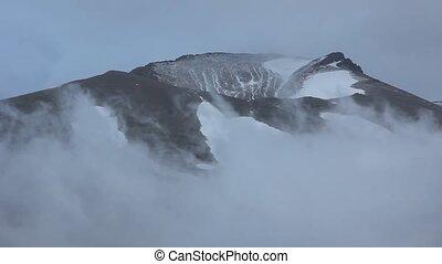 brouillard, chronocinématographie, paysage, montagne