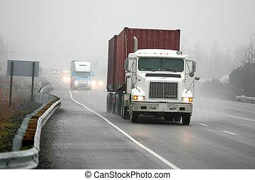brouillard, conduite
