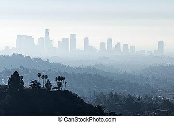 brouillard, la, smoggy