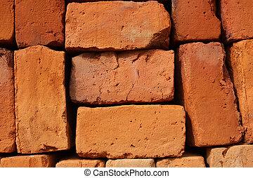 Brown Adobe Bricks