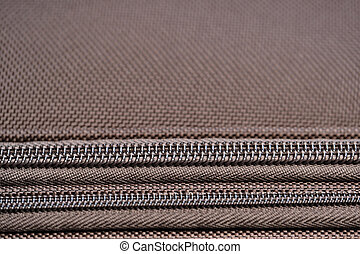 Brown background of dense fabric