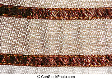 Brown background of fabric