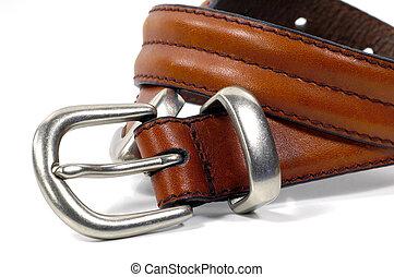 Brown Belt - Brown Leather Belt