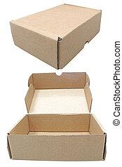 brown box shipping