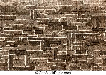 Brown brick background