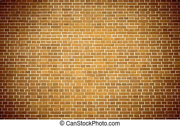 Brown brick block wall pattern 2