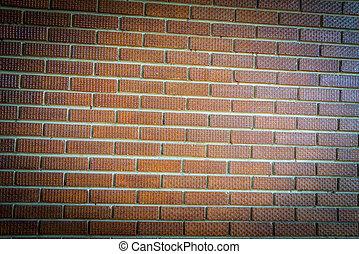 Brown brick wall pattern1