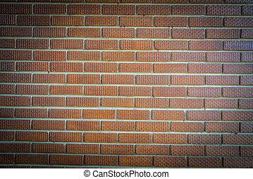 Brown brick wall pattern2