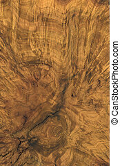 full frame abstract burl wood background