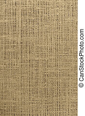 Brown Burlap - Close-up of burlap weave for background