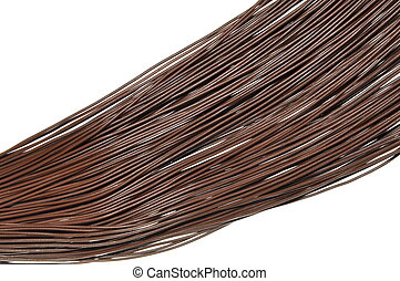 Brown cables
