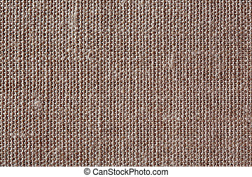 Brown canvas texture or background.