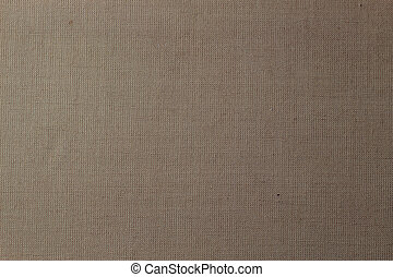 Brown canvas texture or background