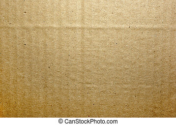 Brown cardboard full frame abstract textured background.