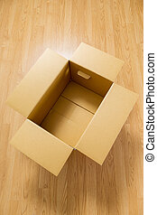Brown carton box