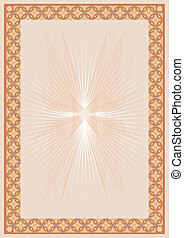 Brown certificate background - Brown abstract background ...