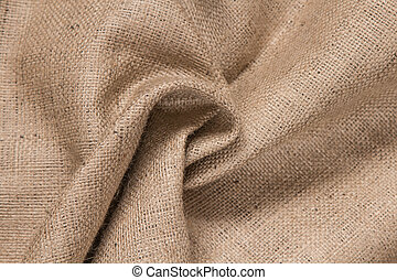 Brown cloth background, fabric texture for background, close up