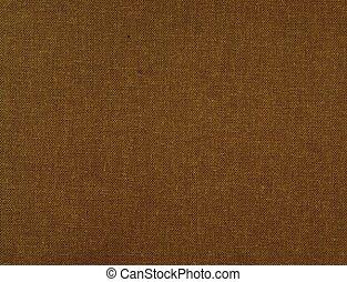 brown cloth book binding surface