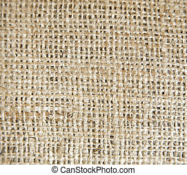 Brown coloured texture woven linen background