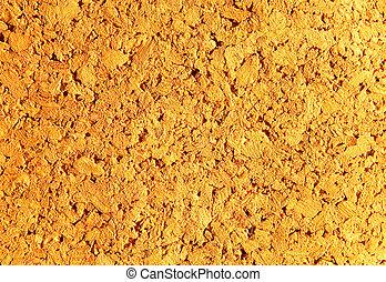 Brown cork background