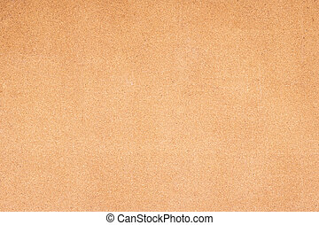 Brown cork board texture background.
